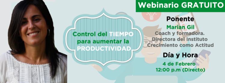webinar2-mariangil-control de l tiempo para aumentar la productividad