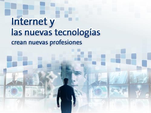 internet crean nuevas profesiones