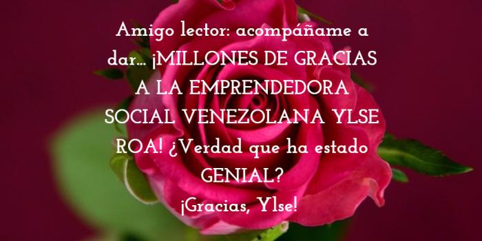 GRACIAS A YLSE